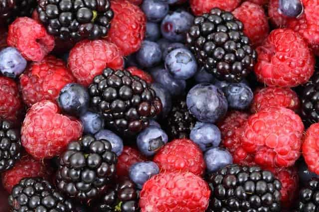 Try different types of berries