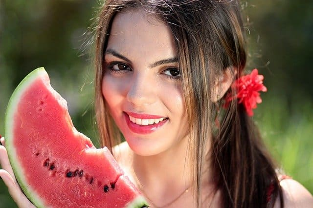 Improves your sweet tooth with watermelon diet