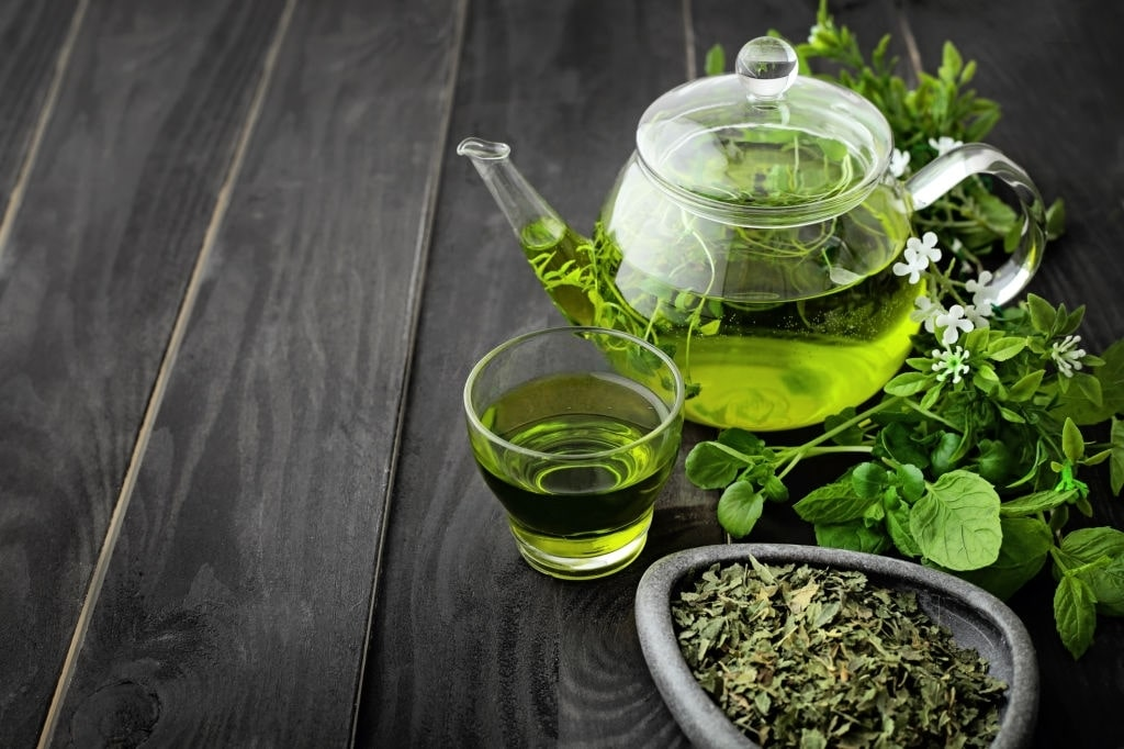Green Tea is the best natural herbs for energy